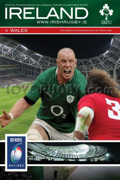 2012 Ireland v Wales  Rugby Programme