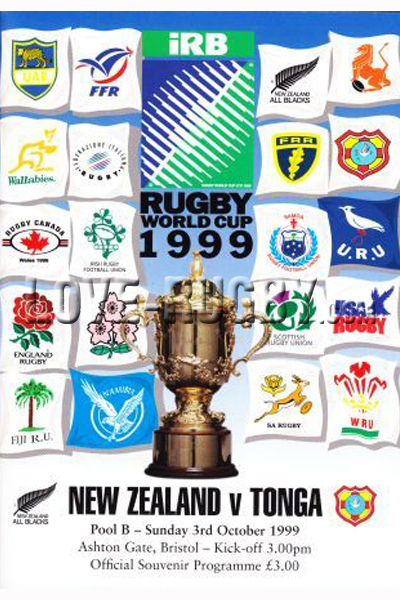 New Zealand Tonga 1999 memorabilia