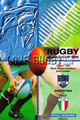 Argentina v Italy 1995 rugby  Programme