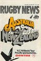 Australia v New Zealand 1979 rugby  Programme