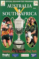 Australia v South Africa 1998 rugby  Programme