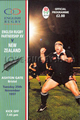 E Rugby Partnership v New Zealand 1997 rugby  Programmes