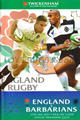 England v Barbarians 2001 rugby  Programme