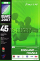 Rugby World Cup 2007  memorabilia