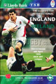 England v Ireland 1998 rugby  Programme