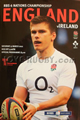 England v Ireland 2012 rugby  Programme