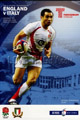 England v Italy 2009 rugby  Programmes