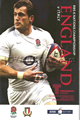 England v Italy 2011 rugby  Programme