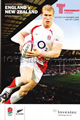 England v New Zealand 2008 rugby  Programmes