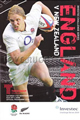 England v New Zealand 2009 rugby  Programmes