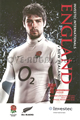 England v New Zealand 2010 rugby  Programme