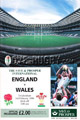 England v Wales 1996 rugby  Programmes
