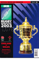 England v Wales 2003 rugby  Programmes