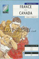 France v Canada 1991 rugby  Programme