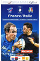 France v Italy 2008 rugby  Programmes