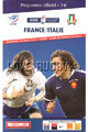 France v Italy 2010 rugby  Programmes