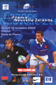 France v New Zealand 2002 rugby  Programmes