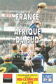 France v South Africa 1997 rugby  Programmes