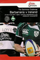 Ireland v Barbarians 2008 rugby  Programme