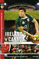 Ireland v Canada 2008 rugby  Programme