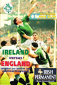 Ireland v England 1995 rugby  Programme