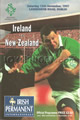 Ireland v New Zealand 1997 rugby  Programmes