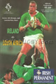 Ireland v South Africa 1998 rugby  Programme