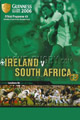Ireland v South Africa 2006 rugby  Programme