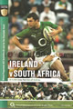Ireland v South Africa 2009 rugby  Programmes