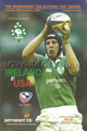 Ireland v USA 2004 rugby  Programme