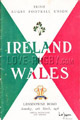 Ireland v Wales 1956 rugby  Programmes