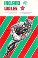 Ireland v Wales 1976 rugby  Programmes