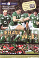 Ireland v Wales 2008 rugby  Programmes