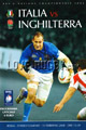 Italy v England 2008 rugby  Programmes