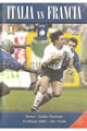 Italy v France 2003 rugby  Programmes