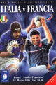 Italy v France 2005 rugby  Programme