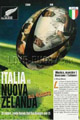 Italy v New Zealand 1995 rugby  Programme