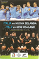 Italy v New Zealand 2009 rugby  Programmes