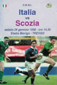 Italy v Scotland 1998 rugby  Programme