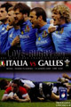 Italy v Wales 2009 rugby  Programmes