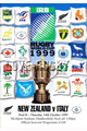 New Zealand v Italy 1999 rugby  Programme