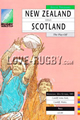New Zealand v Scotland 1991 rugby  Programme