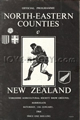 North-Eastern Counties v New Zealand 1964 rugby  Programme