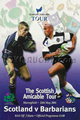 Scotland v Barbarians 2001 rugby  Programme