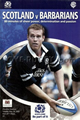 Scotland v Barbarians 2005 rugby  Programme