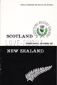 Scotland v New Zealand 1967 rugby