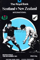 Scotland v New Zealand 1983 rugby  Programmes