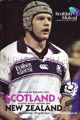Scotland v New Zealand 2001 rugby  Programmes