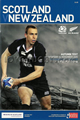 Scotland v New Zealand 2005 rugby  Programmes