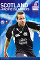 Scotland v Pacific Islanders 2006 rugby  Programme